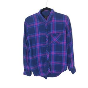 Rails Hunter Plaid Button Down Shirt Small